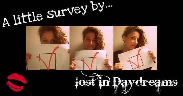 A little survey for you