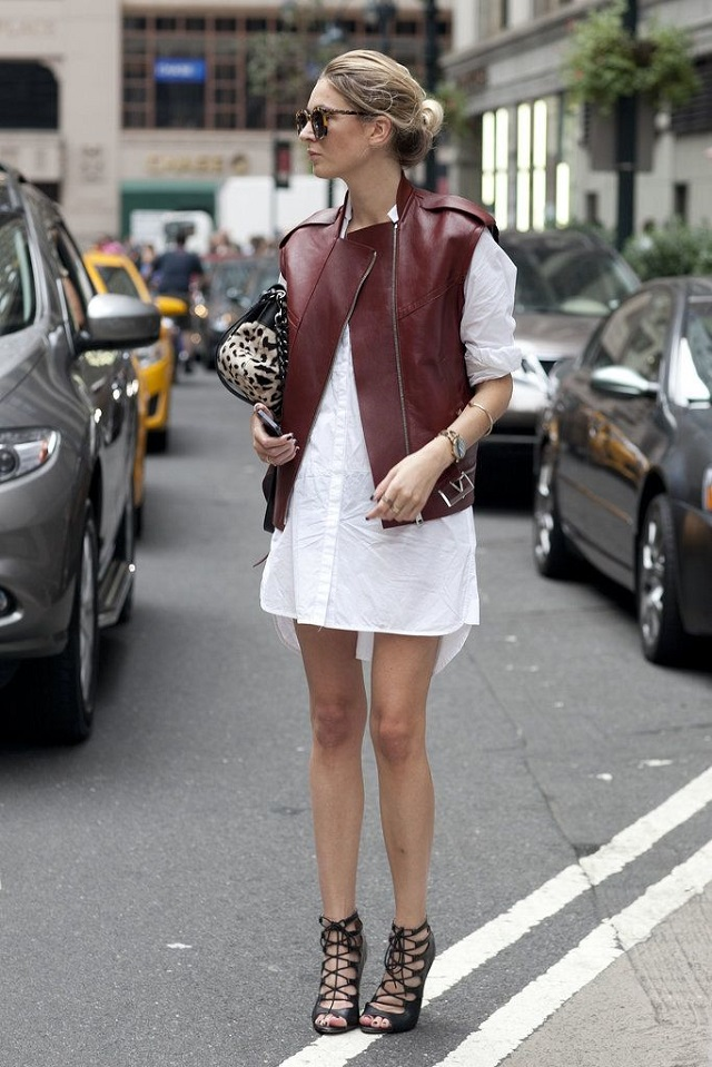NYFW and LFW s/s14 street style