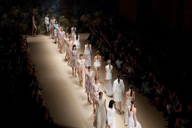 MFW s/s 14: Laura Biagiotti fashion show