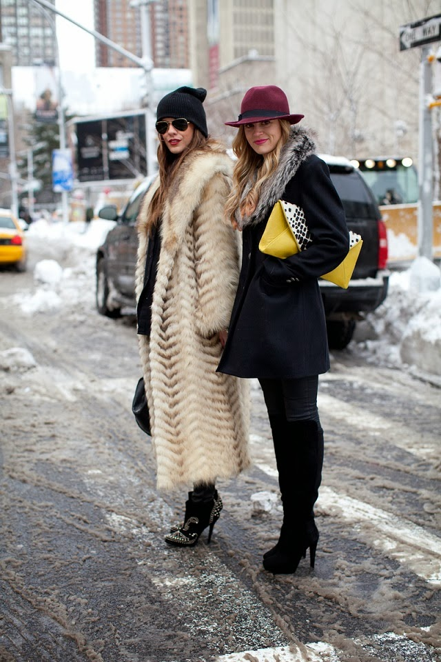 Street style inspirations: long coats