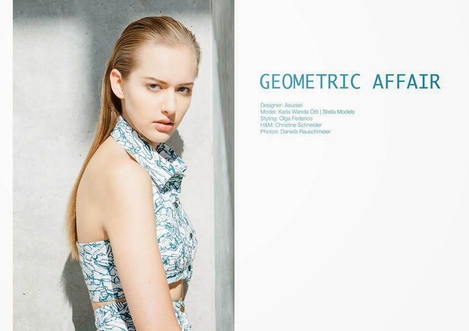Styling portfolio: geometric affair