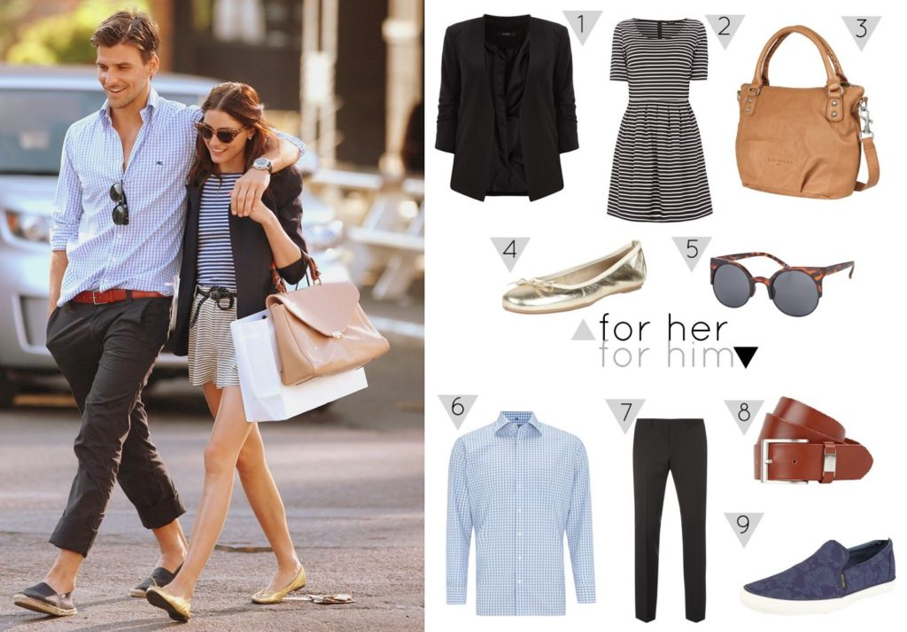 Get the look: Olivia Palermo and Johannes Huebl