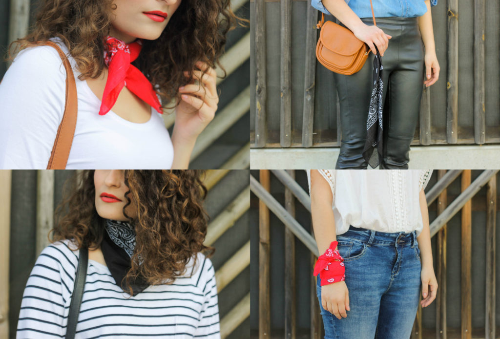 4 ways to wear a bandana